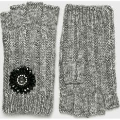 Liu Jo - Rękawiczki. Czerwone rękawiczki damskie Liu Jo, z dzianiny. Za 269,90 zł.