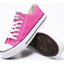 Andy-Z - Tenisówki. Różowe tenisówki damskie marki Andy-Z, z gumy. W wyprzedaży za 29,90 zł.