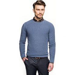Sweter cilian półgolf niebieski. Niebieskie swetry klasyczne męskie Recman, m, z golfem. Za 219,00 zł.