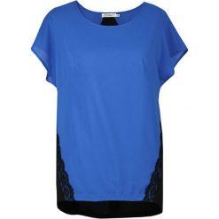 Bluzki asymetryczne: Bluzka w kolorze niebiesko-czarnym
