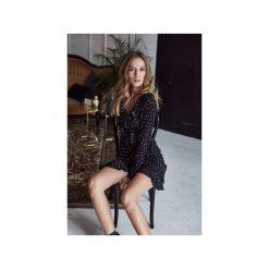 Sukienki: Sukienka Lola czarna w białe kropki