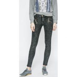 Haily's - Jeansy Anna. Szare jeansy damskie rurki Haily's, z bawełny, z obniżonym stanem. W wyprzedaży za 79,90 zł.