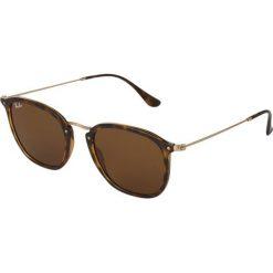 RayBan Okulary przeciwsłoneczne brown. Szare okulary przeciwsłoneczne damskie lenonki marki Ray-Ban, z materiału. Za 579,00 zł.