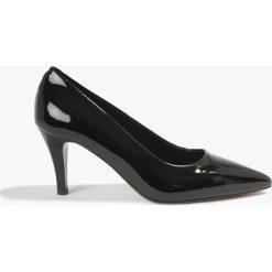 Czółenka czarne Lauren. Czarne buty ślubne damskie Badura. Za 269,99 zł.
