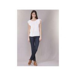 Jeansy straight leg Levis  714 STRAIGHT. Niebieskie jeansy damskie Levi's®. Za 351,20 zł.