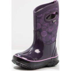 Bogs CLASSIC  Śniegowce eggplant. Fioletowe buty zimowe damskie marki Bogs, z materiału. W wyprzedaży za 237,30 zł.