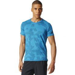 Adidas Koszulka męska Freelift Elite niebieska r. L (BR4098). Niebieskie t-shirty męskie Adidas, l. Za 169,90 zł.