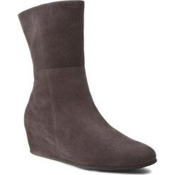 Botki HÖGL - 2-104422 Dark Grey 6600. Czarne buty zimowe damskie marki HÖGL, z materiału. W wyprzedaży za 349,00 zł.