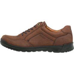 Ecco HOWELL Sznurowane obuwie sportowe cognac. Brązowe buty sportowe męskie ecco, z materiału, na sznurówki. Za 599,00 zł.