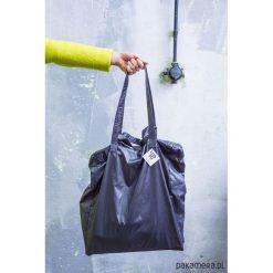 TOTE#2 czarna. Czarne shopper bag damskie Pakamera, z tkaniny, duże. Za 215,00 zł.