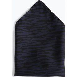 Tiger of Sweden - Poszetka jedwabna męska, niebieski. Niebieskie poszetki męskie Tiger of Sweden, z jedwabiu. Za 179,95 zł.