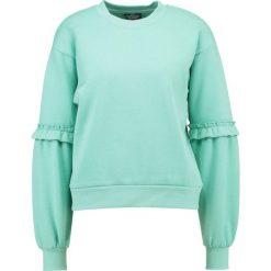 Bluzy rozpinane damskie: Topshop Petite Bluza green