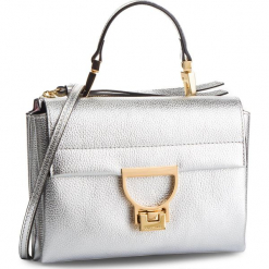 Torebka COCCINELLE - DD5 Arlettis E1 DD5 55 B7 01 Silver Y69. Brązowe torebki klasyczne damskie marki Coccinelle, ze skóry. Za 1149,90 zł.