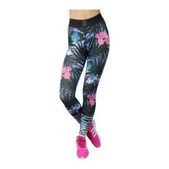 GymHero Spodnie damskie Leggins New-Jungle zielono-niebieskie r. L. Spodnie dresowe damskie Gymhero, l. Za 144,09 zł.