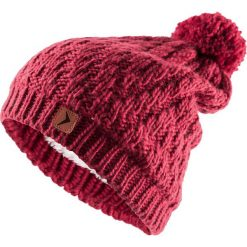 Czapka damska CAD608 - ciemny róż - Outhorn. Czerwone czapki zimowe damskie Outhorn, na jesień. Za 39,99 zł.