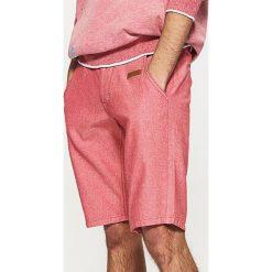 Odzież męska: Klasyczne szorty - Czerwony