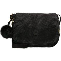 Kipling EARTHBEAT M Torba na ramię black. Czarne torebki klasyczne damskie Kipling. Za 359,00 zł.