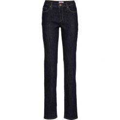 Wygodne dżinsy ze stretchem CLASSIC bonprix ciemnoniebieski. Niebieskie jeansy damskie marki bonprix. Za 74,99 zł.
