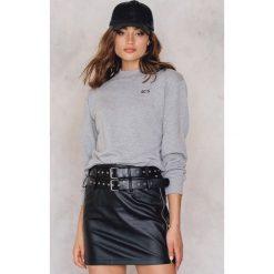 Bluzy rozpinane damskie: NA-KD Trend Bluza 90's - Grey