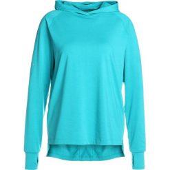 ASICS THERMOPOLIS HOODIE&SULPHUR  Koszulka sportowa lake blue heather. Niebieskie t-shirty damskie Asics, s, z elastanu, z długim rękawem. Za 249,00 zł.