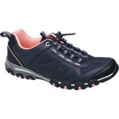 Sportowe buty damskie Graceland granatowe. Czarne buty sportowe damskie marki Adidas, z kauczuku, trekkingowe. Za 99,90 zł.