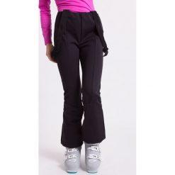 Bryczesy damskie: Spodnie narciarskie damskie SPDN003Z - czarny