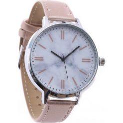 Beżowy Zegarek Constantly. Brązowe zegarki damskie Born2be. Za 24,99 zł.
