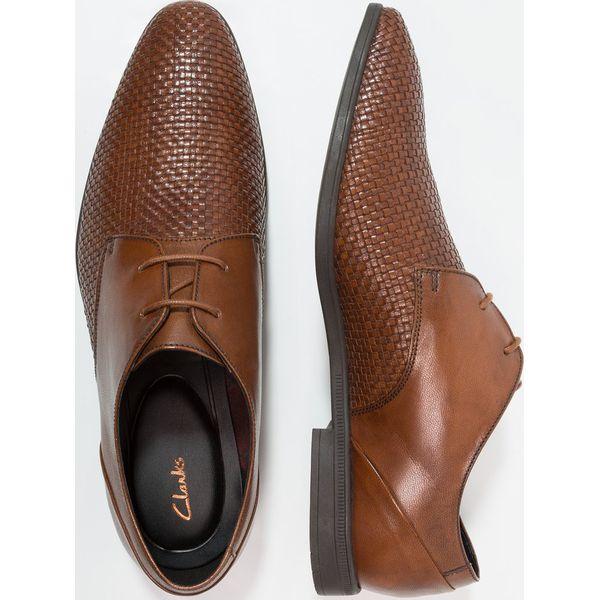 72719a24de68d Clarks BAMPTON Eleganckie buty tan - Brązowe buty wizytowe męskie ...