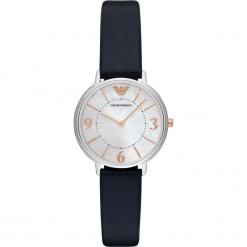 Zegarek EMPORIO ARMANI - Kappa AR2509 Blue/Silver. Szare zegarki damskie marki Emporio Armani, l, z nadrukiem, z bawełny, z okrągłym kołnierzem. Za 719,00 zł.
