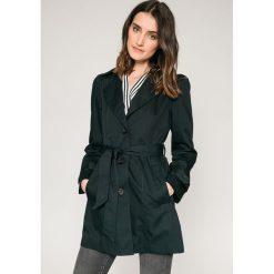 Vero Moda - Płaszcz. Szare płaszcze damskie marki Vero Moda, l, w paski, z bawełny. W wyprzedaży za 99,90 zł.