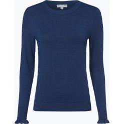 Marie Lund - Sweter damski, niebieski. Fioletowe swetry klasyczne damskie marki Reserved, z falbankami. Za 129,95 zł.