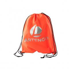 Worek na buty pomarań. Czerwone buty do tenisa męskie marki ARTENGO, z materiału. Za 7,99 zł.