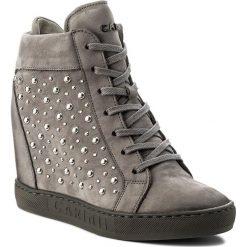 Sneakersy CARINII - B4394 J51-000-000-B88. Szare sneakersy damskie Carinii, z materiału. W wyprzedaży za 289,00 zł.