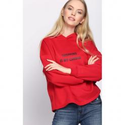 Czerwona Bluza Why So Serious. Czerwone bluzy damskie Born2be, l, z kapturem. Za 49,99 zł.