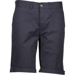 Spodnie chino - Slim fit - w kolorze granatowym. Niebieskie spodenki i szorty męskie marki Ben Sherman, z aplikacjami, z materiału. W wyprzedaży za 152,95 zł.