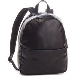 Plecak EMPORIO ARMANI - 402508 8A555 00020 Black. Szare plecaki męskie marki Emporio Armani, l, z nadrukiem, z bawełny, z okrągłym kołnierzem. Za 799,00 zł.