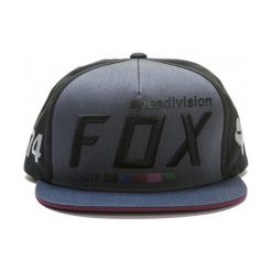 FOX Czapka Męska Draftr Uni Czarny. Szare czapki zimowe męskie marki FOX, z bawełny. Za 147,00 zł.