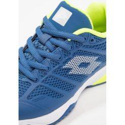 Lotto VIPER ULTRA II Obuwie do tenisa Outdoor blue oil/white. Niebieskie buty do tenisa męskie Lotto, z materiału. Za 229,00 zł.