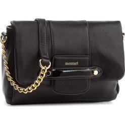 Torebka MONNARI - BAGA210 Black. Czarne torebki klasyczne damskie Monnari, ze skóry ekologicznej. W wyprzedaży za 139,00 zł.