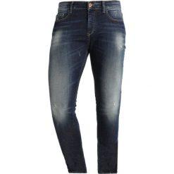 Jeansy męskie: Benetton Jeans Skinny Fit dunkelblau