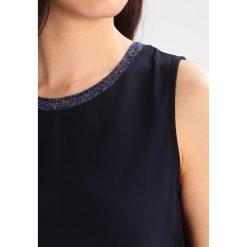 Bluzki asymetryczne: BOSS Orange TOPIA Bluzka dark blue