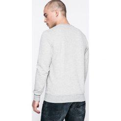 Jack & Jones - Bluza. Czarne bluzy męskie rozpinane marki Jack & Jones, l, z bawełny, z okrągłym kołnierzem. W wyprzedaży za 89,90 zł.