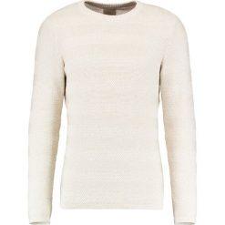 Swetry klasyczne męskie: Selected Homme SHHPARK CAMP CREW NECK Sweter egret/moonbean