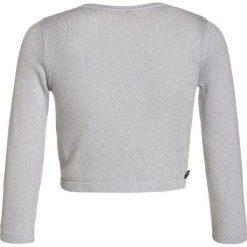 Jottum KALUGA Kardigan silver. Szare swetry chłopięce Jottum, z bawełny. W wyprzedaży za 186,45 zł.