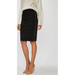 Morgan - Spódnica. Szare spódniczki ołówkowe Morgan, z bawełny, z podwyższonym stanem, midi. W wyprzedaży za 219,90 zł.