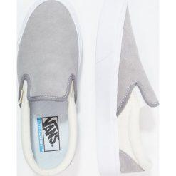 Vans SLIP ON LITE Półbuty wsuwane frost gray/marshmallow. Białe tenisówki damskie Vans, z materiału. Za 359,00 zł.
