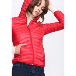 Czerwona Kurtka Read My Mind. Brązowe kurtki damskie pikowane marki QUECHUA, na zimę, m, z materiału. Za 104,99 zł.