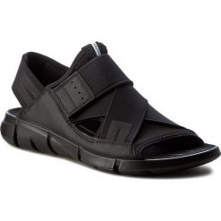 Sandały męskie skórzane: Sandały ECCO – Intrinsic Sandal 84200451052 Black/Black