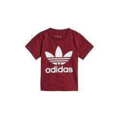 T-shirty z krótkim rękawem Dziecko  adidas  Koszulka Trefoil. Czerwone bluzki dziewczęce z krótkim rękawem Adidas. Za 69,95 zł.