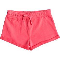 Spodenki dziewczęce. Czerwone kąpielówki chłopięce Roxy, z bawełny, młodzieżowe. Za 96,98 zł.